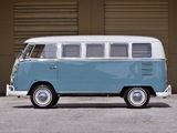 Volkswagen T1 Deluxe Bus 1963–67 photos