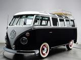 Volkswagen T1 Deluxe Samba Bus 1963–67 pictures