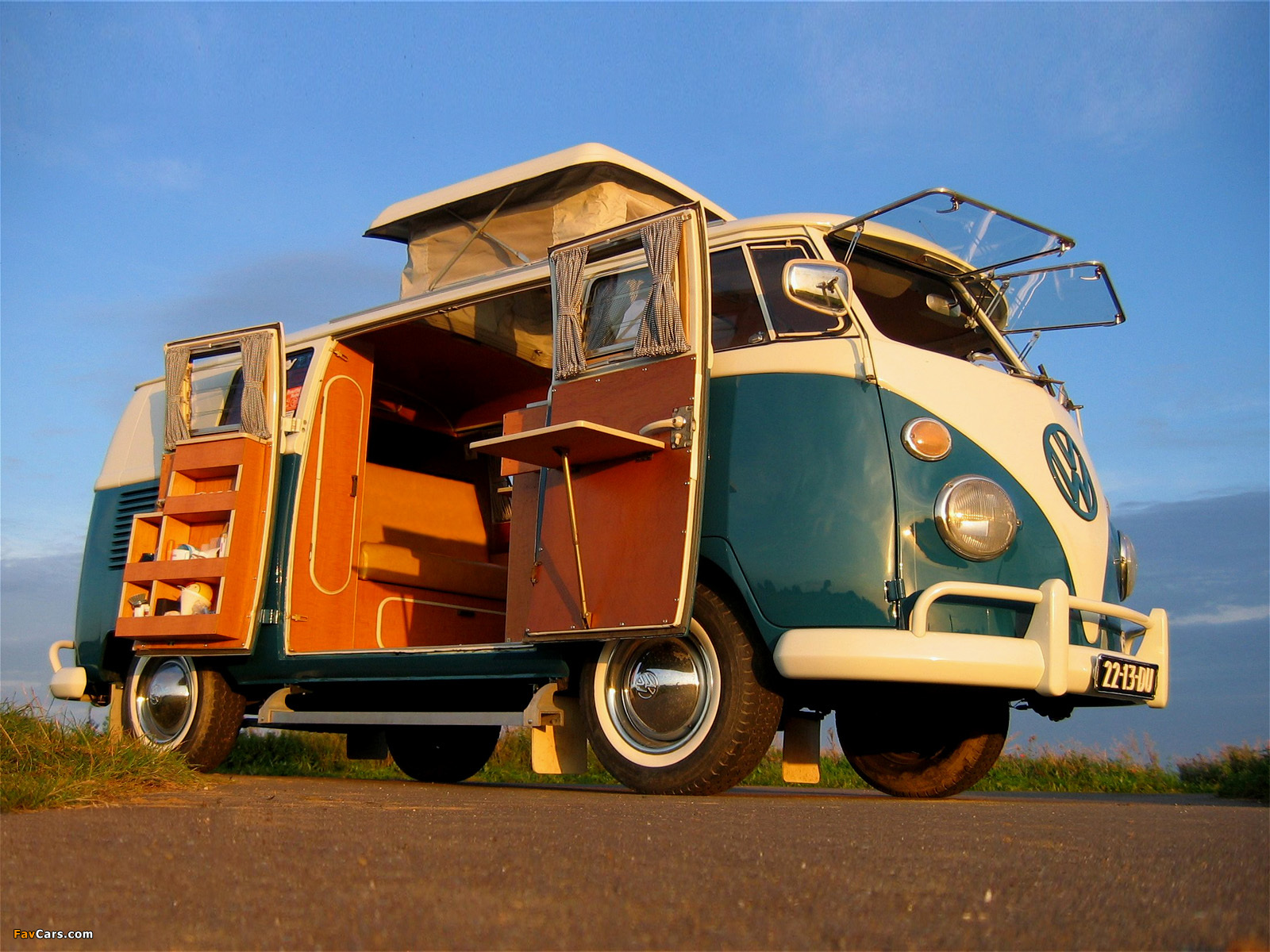 volkswagen t1 camper 1950 67 wallpapers 1600x1200. Black Bedroom Furniture Sets. Home Design Ideas