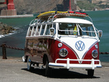 Volkswagen T1 Deluxe Samba Bus 1963–67 wallpapers