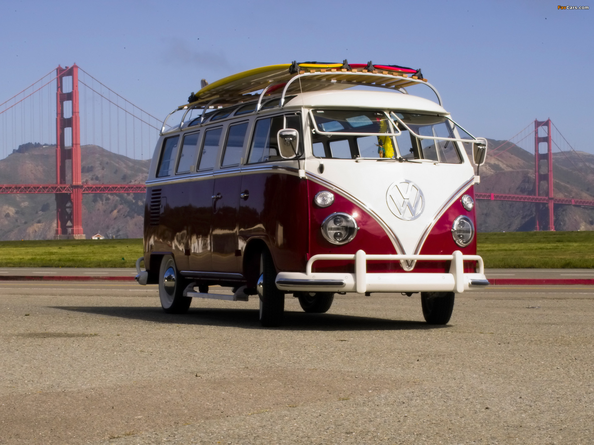 volkswagen t1 deluxe samba bus 1963 67 wallpapers 1920x1440. Black Bedroom Furniture Sets. Home Design Ideas