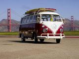 Volkswagen T1 Deluxe Samba Bus 1963–67 wallpapers