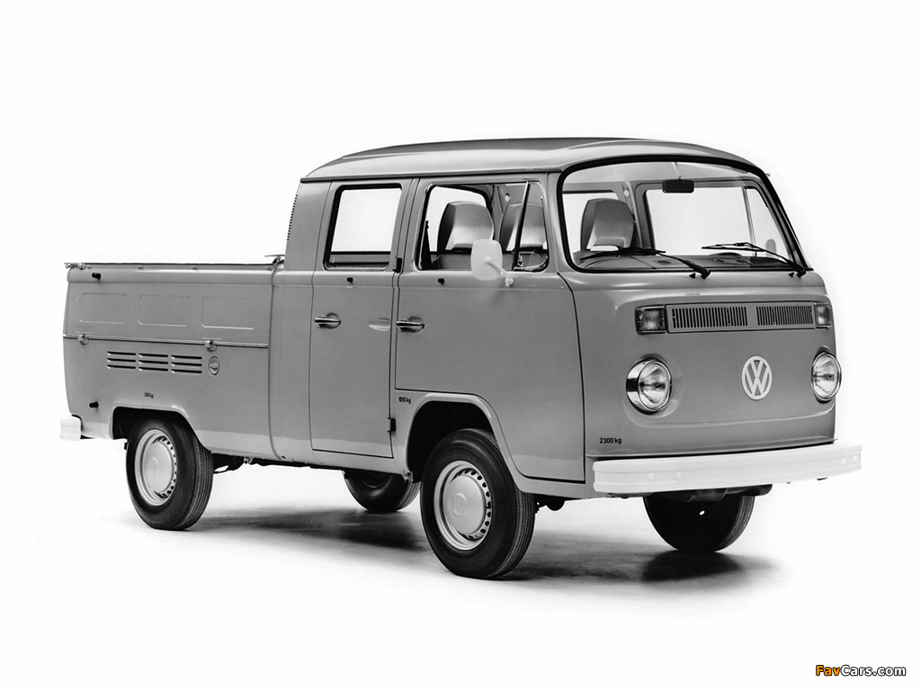 pictures of volkswagen t2 double cab pickup 1024x768. Black Bedroom Furniture Sets. Home Design Ideas