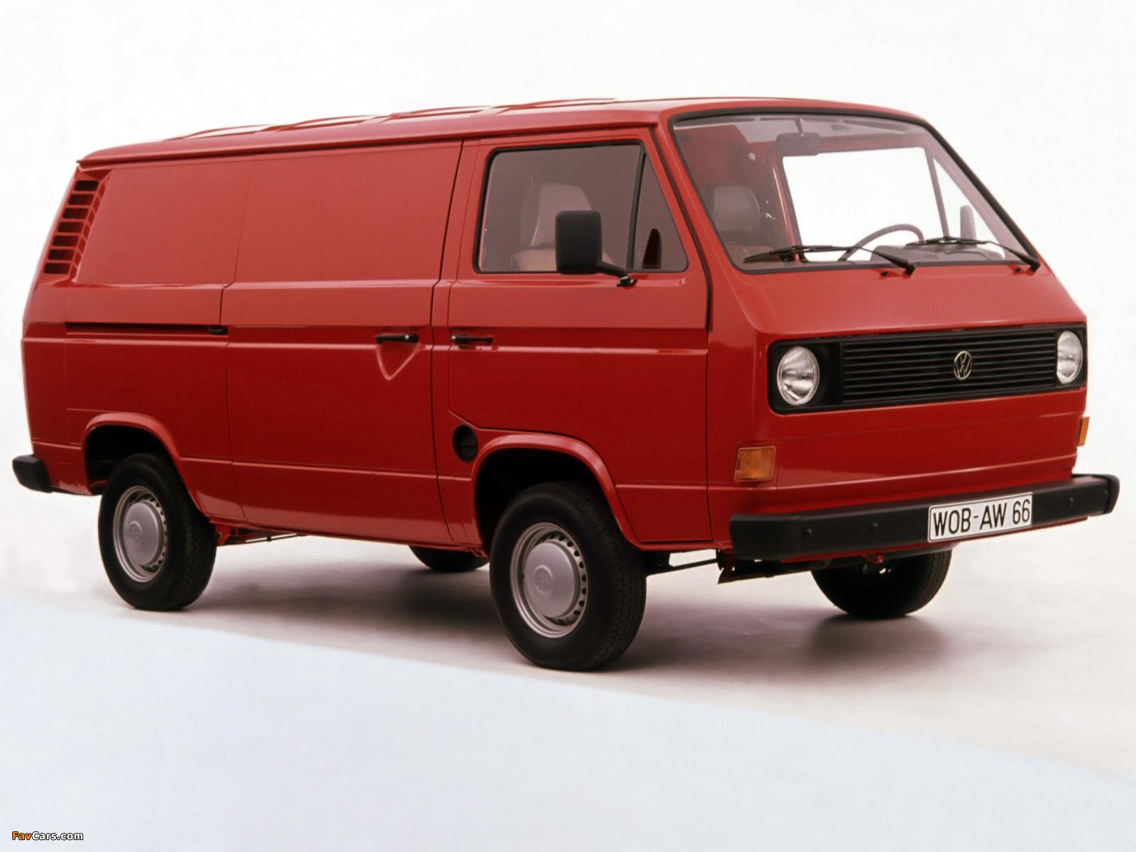 Photos Of Volkswagen T3 Transporter Van 1979 92 1600x1200