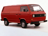 Photos of Volkswagen T3 Transporter Van 1979–92