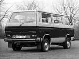 Photos of Volkswagen T3 Caravelle Syncro 1985–92