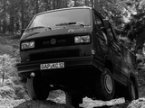 Photos of Volkswagen T3 Transporter TriStar 1990