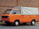 Volkswagen T3 Transporter Pickup 1979–82 photos