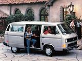 Volkswagen T3 Vanagon 1985 images