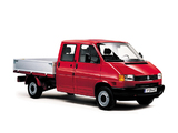 Photos of Volkswagen T4 Transporter Double Cab Pickup 1990–2003