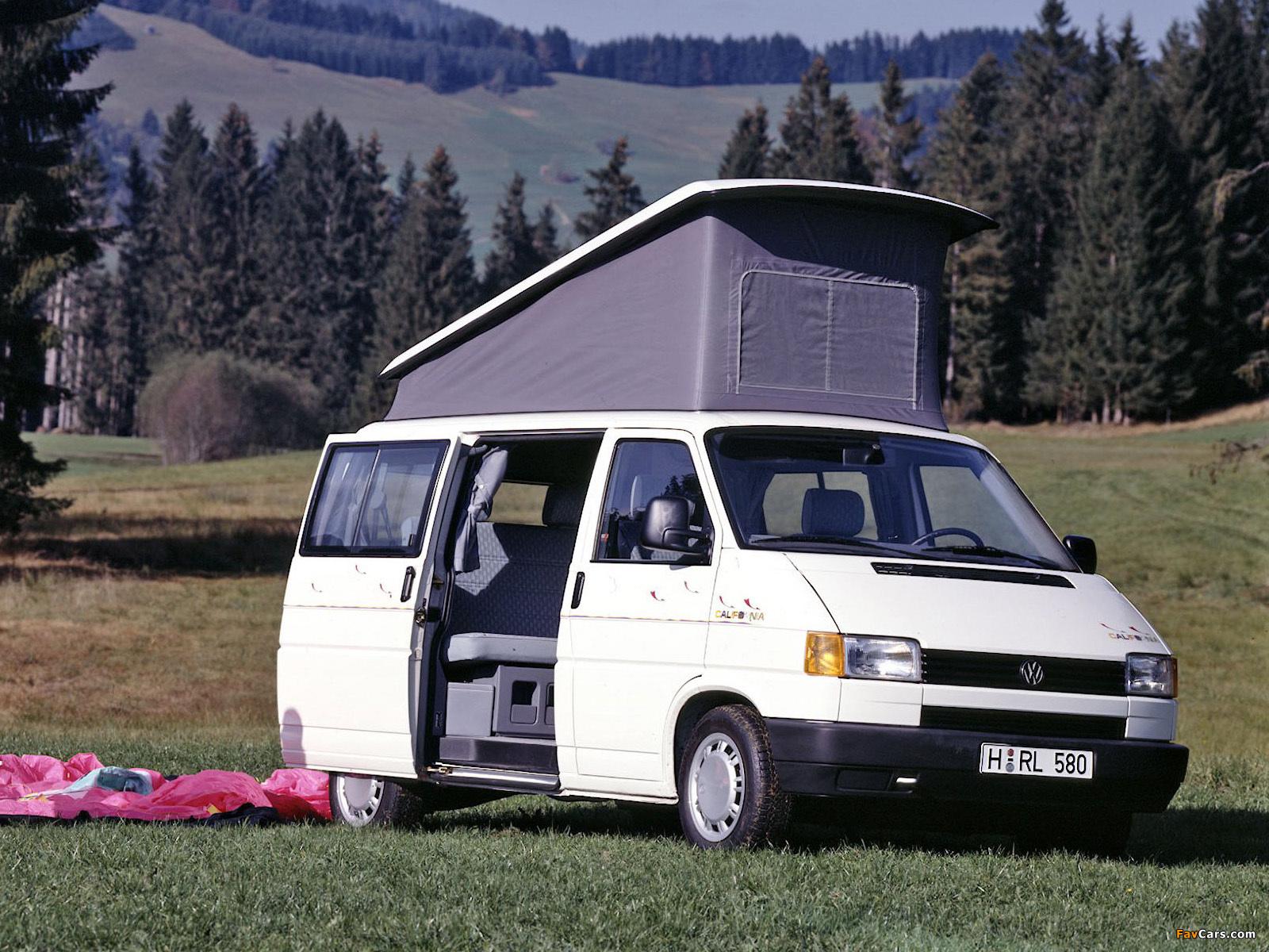 volkswagen t4 california 1991 96 wallpapers 1600x1200. Black Bedroom Furniture Sets. Home Design Ideas