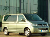 Images of Volkswagen T5 Caravelle UK-spec 2003–09