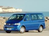 Images of Volkswagen T5 Caravelle UK-spec 2003–09