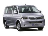 Images of Volkswagen T5 Multivan Comfortline 2003–09