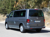 Images of Volkswagen T5 Multivan Panamericana 2009