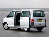 Images of Volkswagen T5 Transporter Shuffle UK-spec 2010
