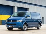 Images of Volkswagen T5 Transporter BlueMotion Van UK-spec 2012