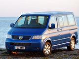 Photos of Volkswagen T5 Caravelle UK-spec 2003–09