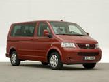 Photos of Volkswagen T5 Multivan Comfortline 2003–09