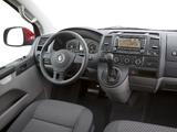Photos of Volkswagen T5 Transporter Van LWB 2009
