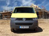 Photos of Volkswagen T5 Transporter Van UK-spec 2009