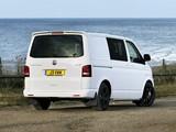Photos of Volkswagen T5 Transporter Combi Sportline UK-spec 2011