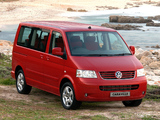 Pictures of Volkswagen T5 Caravelle ZA-spec 2003–09