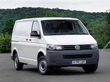 Pictures of Volkswagen T5 Transporter Van 2009