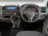 Pictures of Volkswagen T5 Transporter Crew Bus ZA-spec 2009