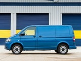 Pictures of Volkswagen T5 Transporter BlueMotion Van UK-spec 2012