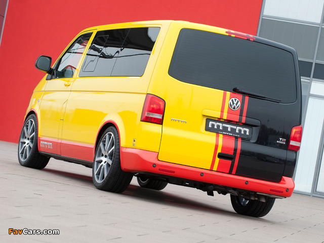Pictures of MTM Volkswagen T5 TSI 4MOTION 2012 (640 x 480)