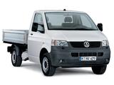 Volkswagen T5 Transporter Pickup 2003–09 images