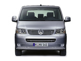 Volkswagen T5 Multivan Comfortline 2003–09 photos