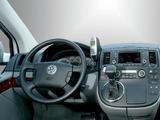 Volkswagen T5 Multivan Highline 2003–09 wallpapers
