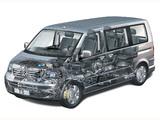 Volkswagen T5 Multivan Comfortline 2003–09 wallpapers