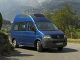 Volkswagen T5 California Trendline 2006–09 photos