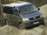 Volkswagen T5 California Trendline 2006–09 pictures