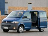 Volkswagen T5 Transporter Crew Bus ZA-spec 2009 images