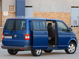 Volkswagen T5 Transporter Crew Bus ZA-spec 2009 photos