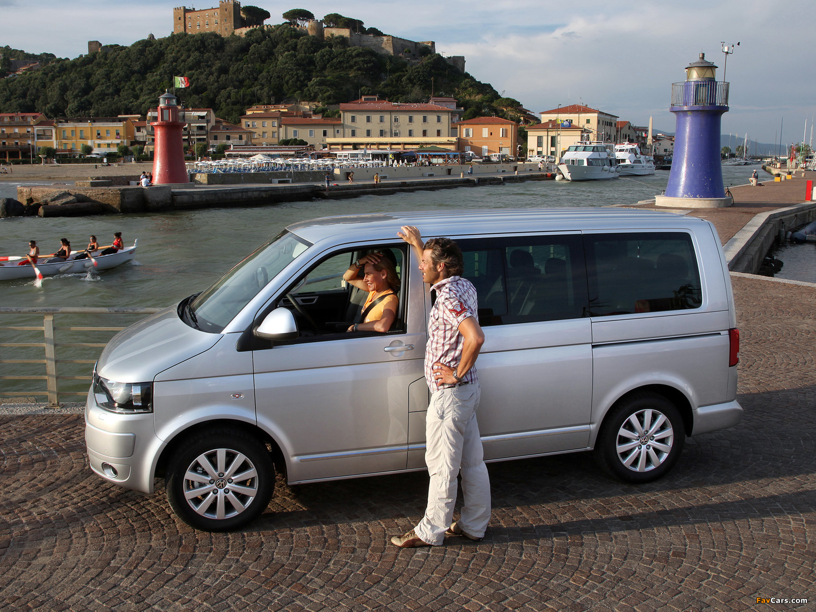 Volkswagen T5 Multivan Highline 2009 Photos 1600x1200