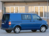 Volkswagen T5 Transporter Crew Bus ZA-spec 2009 pictures