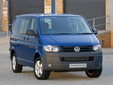 Volkswagen T5 Transporter Crew Bus ZA-spec 2009 wallpapers