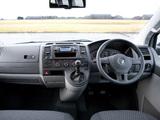 Volkswagen T5 Transporter Shuffle UK-spec 2010 images