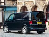Volkswagen T5 Transporter Sportline UK-spec 2011 images