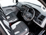 Volkswagen T5 Transporter Sportline UK-spec 2011 pictures