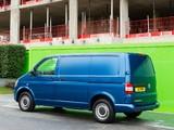 Volkswagen T5 Transporter BlueMotion Van UK-spec 2012 images