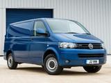 Volkswagen T5 Transporter BlueMotion Van UK-spec 2012 photos