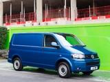 Volkswagen T5 Transporter BlueMotion Van UK-spec 2012 pictures