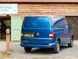 Volkswagen T5 Transporter BlueMotion Van UK-spec 2012 wallpapers