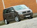 Hartmann Vansports Volkswagen T5 Multivan Prime 2012 wallpapers